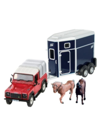 Britains 43239 - Land Rover Paardenset (1:32)