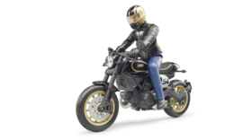 Bruder 63050 - Ducati Scrambler Cafe Racer met bestuurder