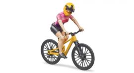 Bruder 63111 - Bworld moutainbike met speelfiguur vrouw