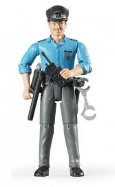 Bruder 60050 - Bworld politieman met accessoires