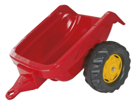 Rolly Toys 121700 - RollyKid aanhanger rood