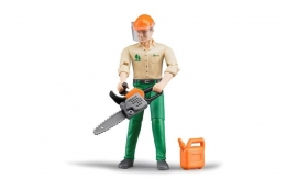 Bruder 60030 - Bworld bosbouwer met accessoires
