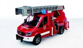 Bruder 2532 - Mercedes-Benz Sprinter ladderwagen brandweer