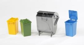 Bruder 2607 - Accessoireset vuilniswagen