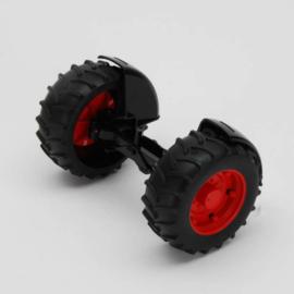 Bruder 42060 - Vooras rood t.b.v. tractoren 2000 serie