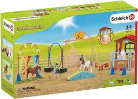 Schleich 72149 - Behendigheid bij de stal
