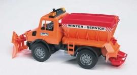 Bruder 2572 - MB Unimog winterdienst