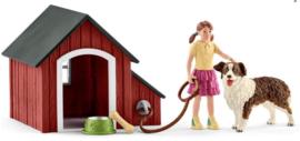 Schleich  42376-Hondenhok