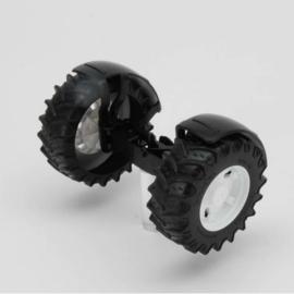 Bruder 43004 - Vooras wit t.b.v. tractoren 3000 serie