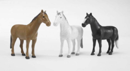 Bruder 2306 - Paard  per stuk (in 3 kleuren leverbaar)