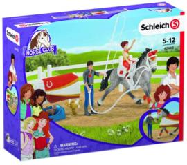 Schleich 42443 - Gewelfde rijset Horse Club Mia