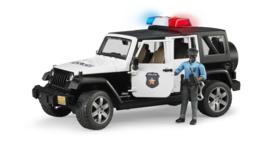 Bruder 2527 - Jeep Wrangler Unlimited Rubicon Politie incl. speelfiguur