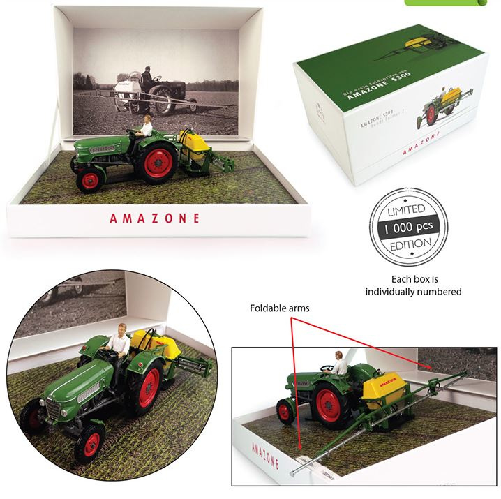 Universal Hobbies 6201 - Fendt Farmer 2 met Amazone S300 Lim. Edition (1:32)