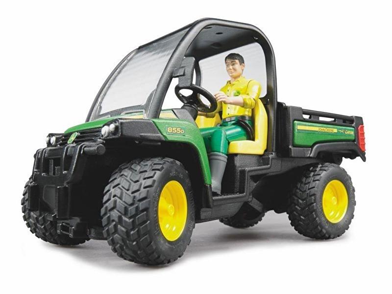 Bruder 2490 - John Deere XUV 855D Gator met bestuurder