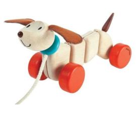 PlanToys houten hondje