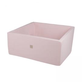 Meow ballenbad - vierkant licht roze