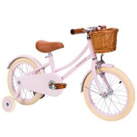 Banwood fiets met pedalen roze