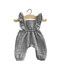 Minikane Doll jumpsuit | Grijs