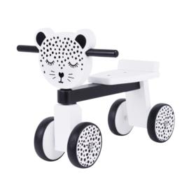 Van Pauline wooden ride on leopard gepersonaliseerd