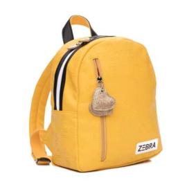 Zebra rugzak (S) - Yellow
