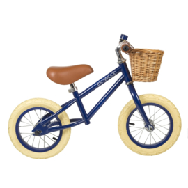 Banwood First Go loopfiets - Navy