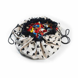 Play&Go speelkleed  Mickey Mouse Black