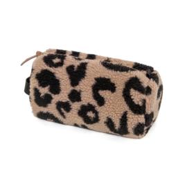 Petit Monkey - pennen etui teddy leopard