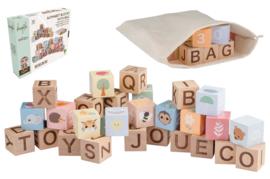 Joueco - The Wildies Family Alfabet blokken