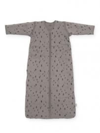 Jollein - Baby slaapzak 70cm Spot storm grey met afritsbare mouw