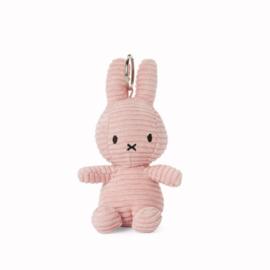 Nijntje sleutelhanger corduroy 10cm | Licht roze