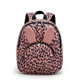 Van Pauline - rugzak Bunny Pink Leopard
