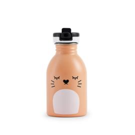 Noodoll - drinkfles Ricemimi - Perzik