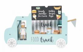 JaBaDaBaDo - Houten foodtruck met accessoires