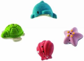 Plan Toys houten badspeelgoed Sea Life