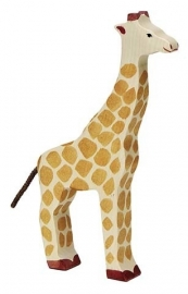 Holztiger giraffe