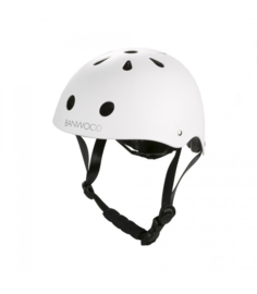 Banwood helm matte white