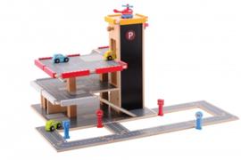 Joueco - Garage met accessoires 20-delig