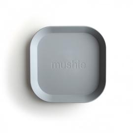 Mushie bord vierkant - cloud (set van 2 stuks)