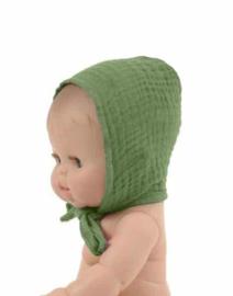 Minikane Doll hoofdkapje   Olijf