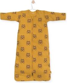 Jollein - Baby slaapzak 70cm Tiger mustard met afritsbare mouw