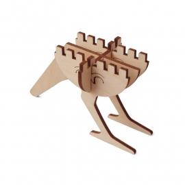 Brikkon  houten vogel