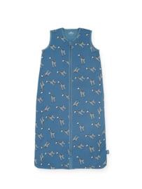 Jollein -  Slaapzak Zomer -  Giraffe - Jeans Blue - 70cm