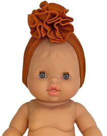 Minikane Doll haarband | Cognac
