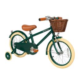 Banwood fiets met pedalen - groen