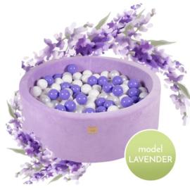 "Meow ballenbad velours ""Lavendel"" mix"