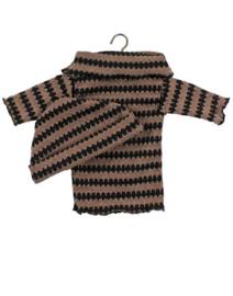 Minikane Doll setje | Bruin/Zwart