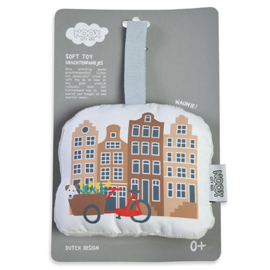 Noox city kids soft toy grachtenpandjes