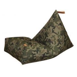 Fayne pouffe XXL zitzak - Outdoor - Camouflage