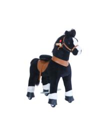 Ponycycle - Zwart paardje