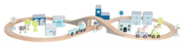 JaBaDaBaDo - Houten snelweg (blauw)